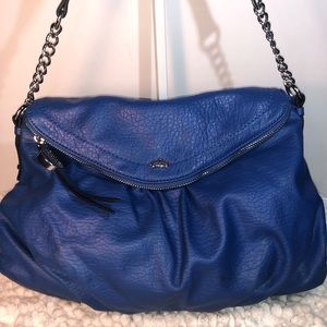 Juicy Couture~Royal Blue Large Satchel / Crossbody